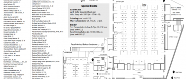 EXHIBITOR LIST & MAP